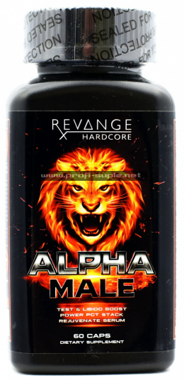 ALPHA MALE 60caps PCT Mega Booster Testosteronu