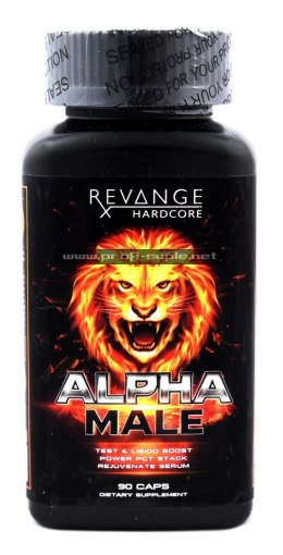 ALPHA MALE PCT Mega Booster Testosteronu
