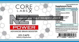 NZT POWER 20caps (200mg modafinil)
