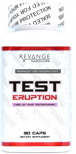 TEST ERUPTION 90cap - MAX TESTOSTERON !