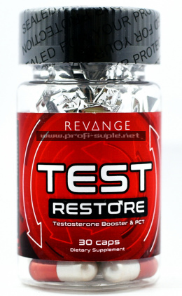 Test Restore 30caps - Testosterone Booster & PCT