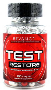 Test Restore 60caps - Testosterone Booster & PCT